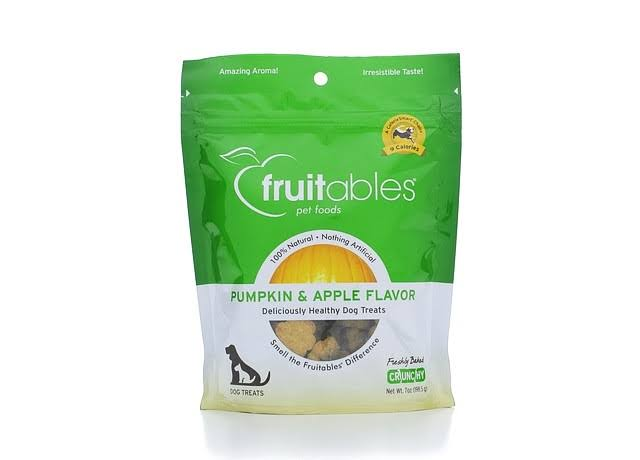 Fruitables Pet Foods Dog Treats - Pumpkin & Apple
