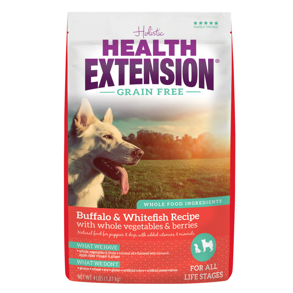 Health Extension Allergix Dog Food - Buffalo, Whitefish & Chickpea