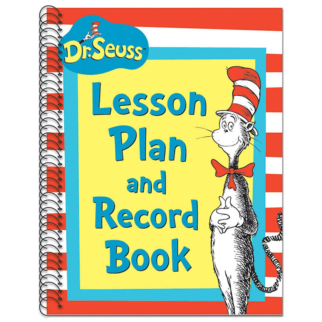 Eureka EU-866220 Cat In The Hat Lesson Plan And Record Book