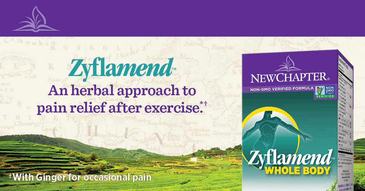 New Chapter Zyflamend Wholebody Herbal Pain Reliever - 60 Capsules