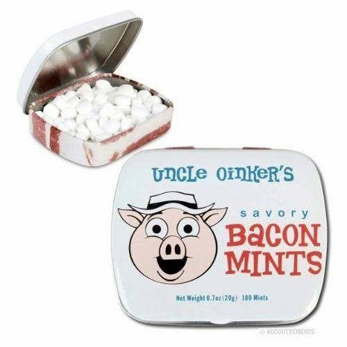 Accoutrements Uncle Oinker's Mints - 20g, Savory Bacon