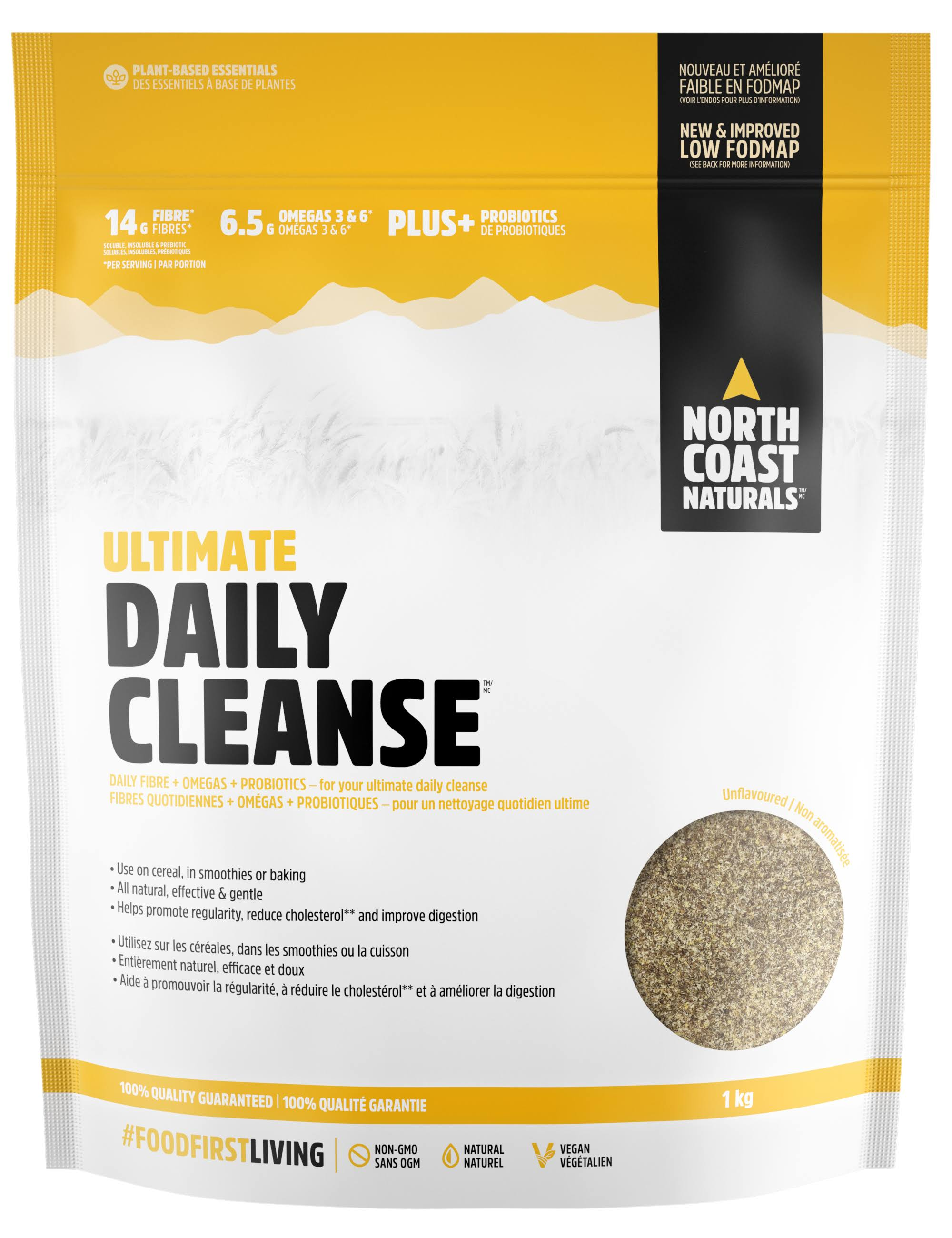 North Coast Naturals Ultimate Daily Cleanse - 1000g