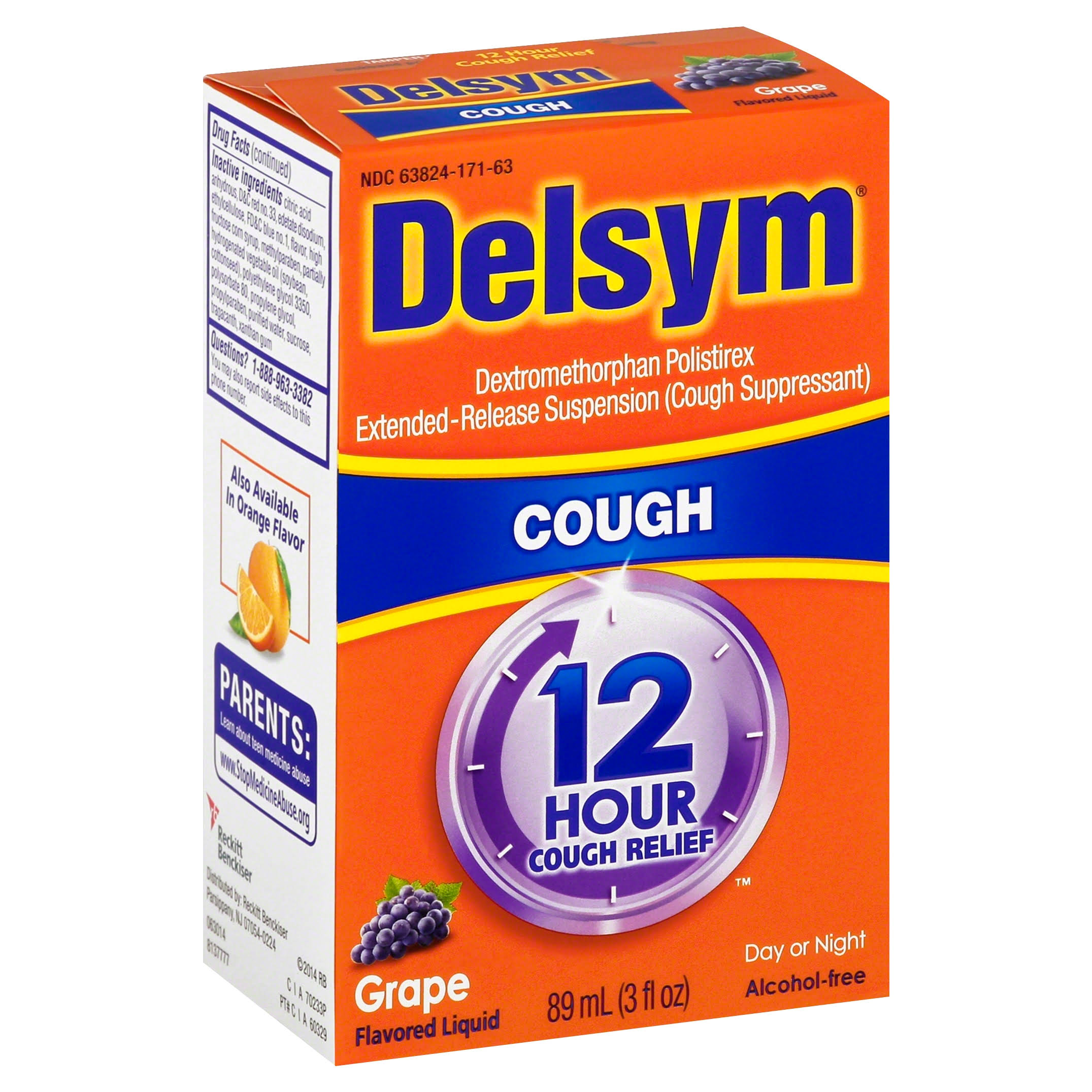 Delsym Cough Suppressant - Grape