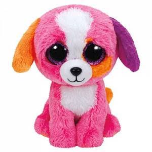 Ty Beanie Boos Buddy - Precious The Dog, 24cm