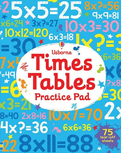 Times Tables Practice Pad [Book]