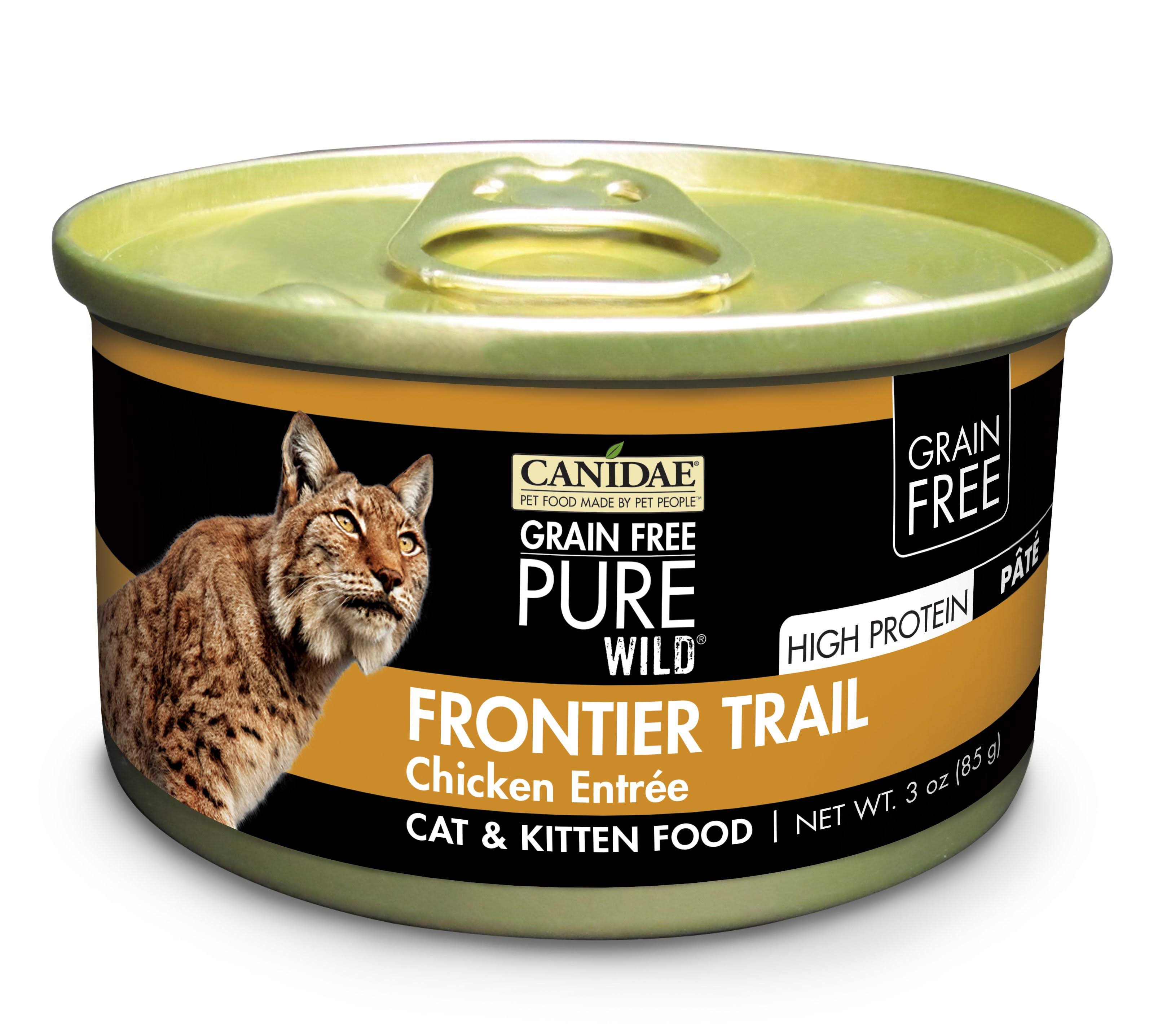 Canidae GF Pure Wild Frontier Trail Chicken Entree Cat Food - 3oz