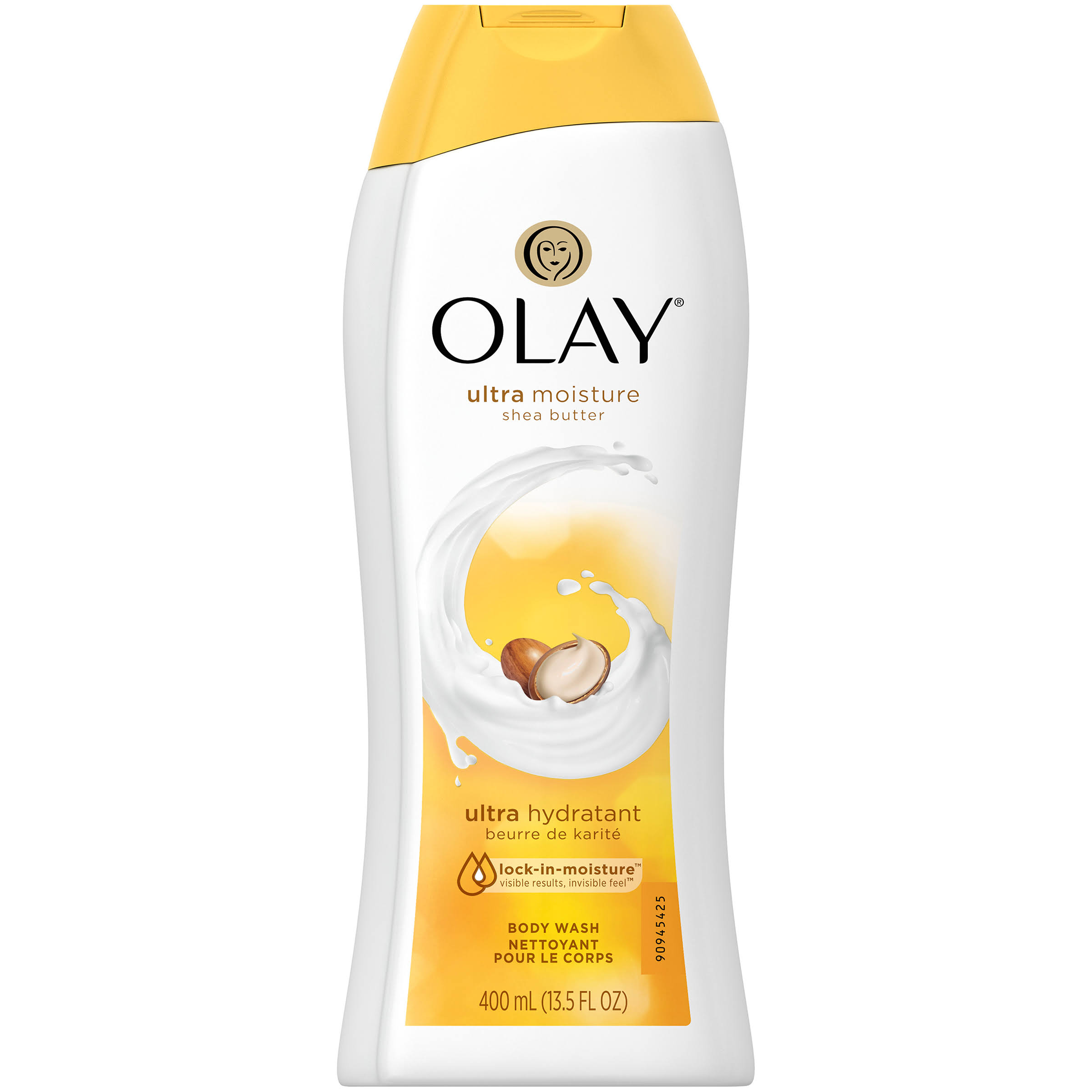 Olay Ultra Moisture Moisturizing Body Wash - with Shea Butter, 13.5oz