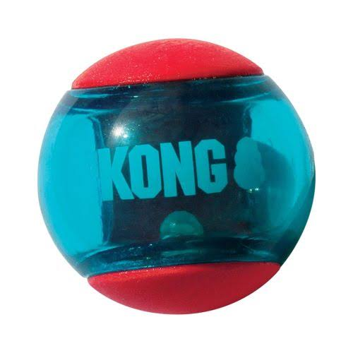 Kong - Squeezz Action Ball Red - Medium