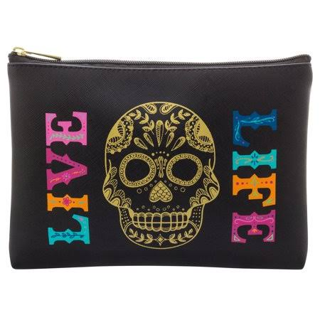 Karma Cosmetic Bag Skull