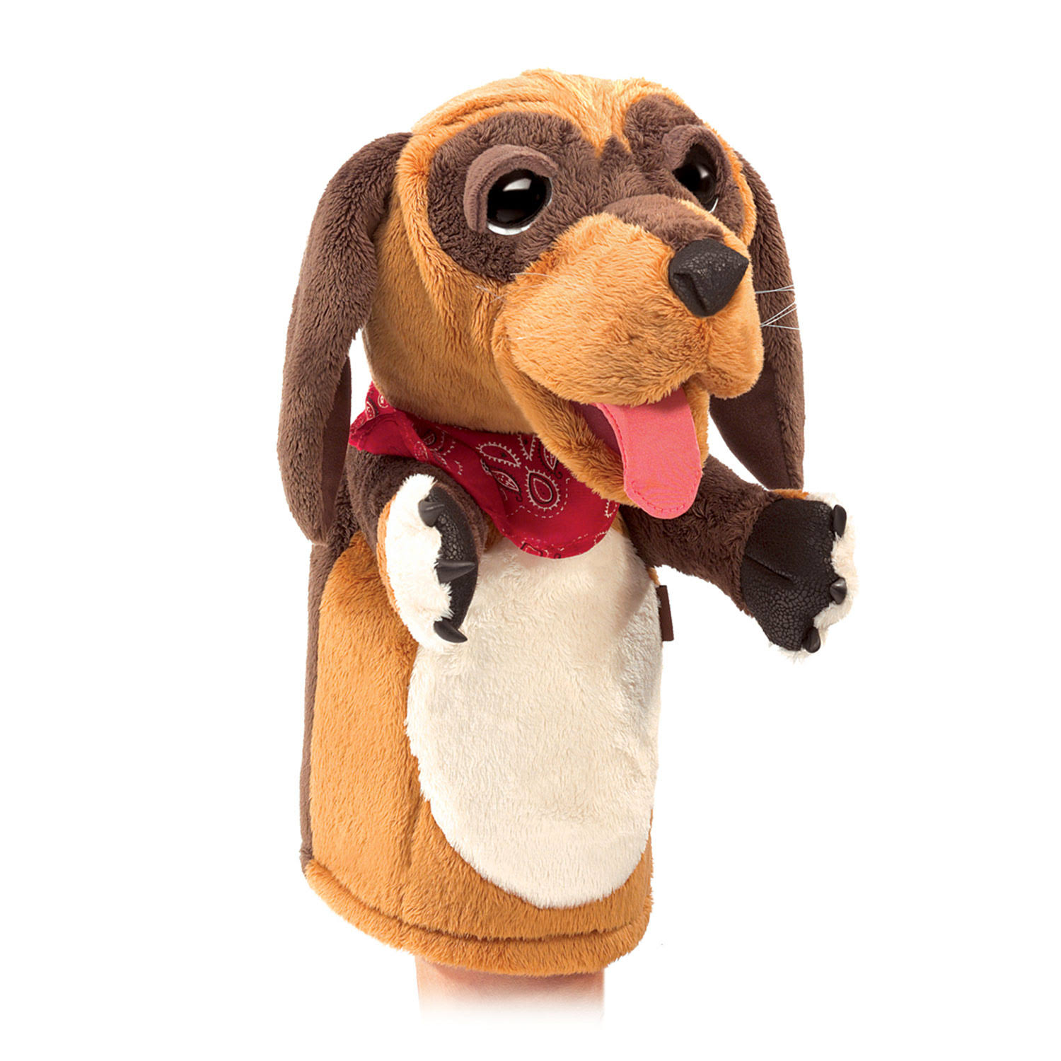 Folkmanis Hand Puppet - Stage Dog