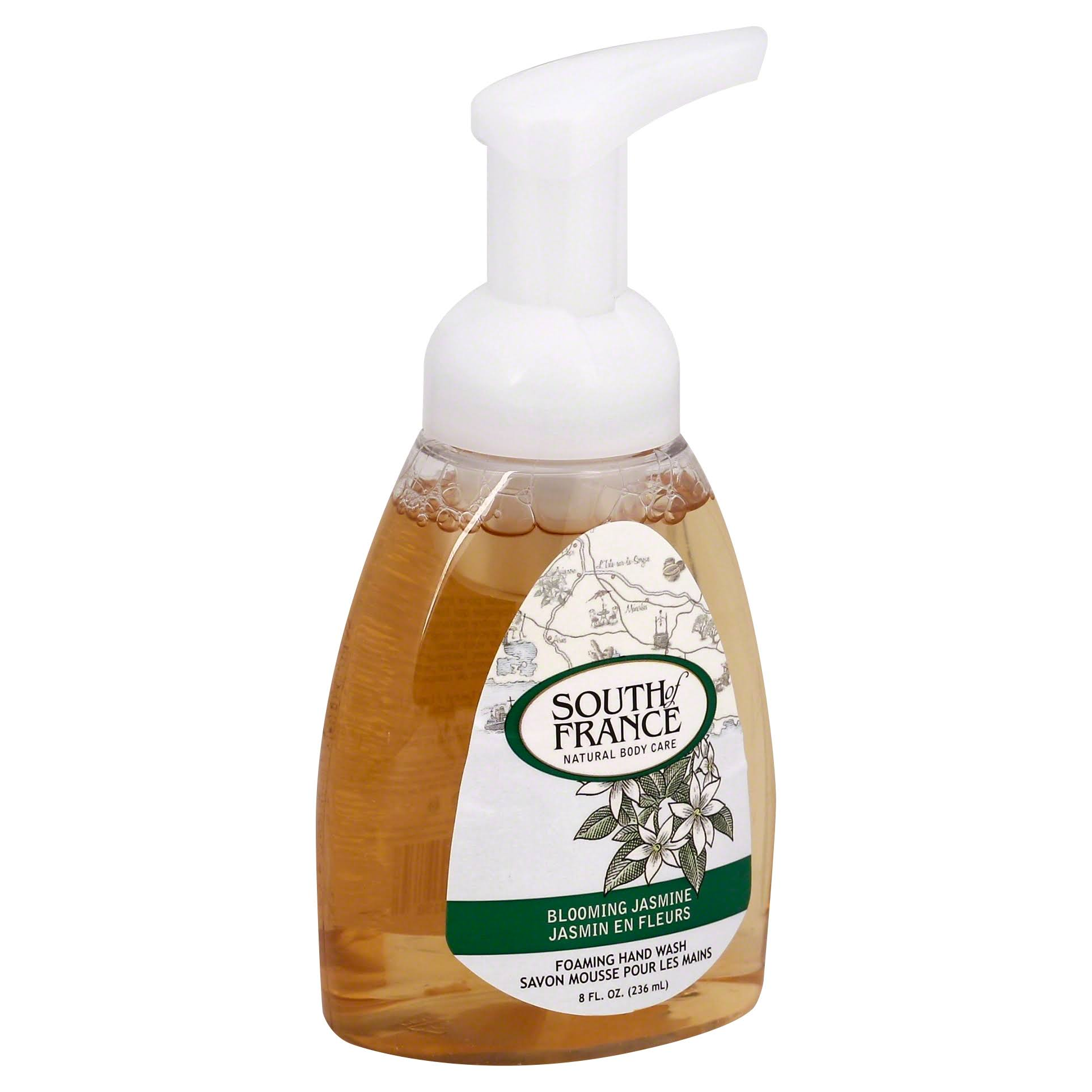 South of France Foaming Hand Wash - Blooming Jasmine, 236ml