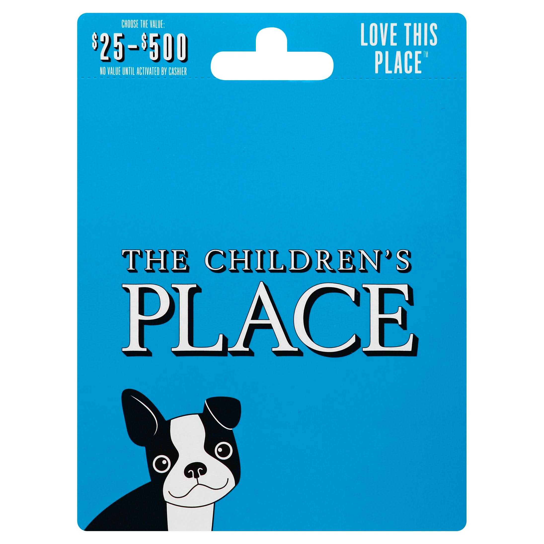 Childrens Place Gift Card,