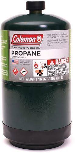 Coleman 110366 Coleman Propane Fuel 16 oz, Pack of 1