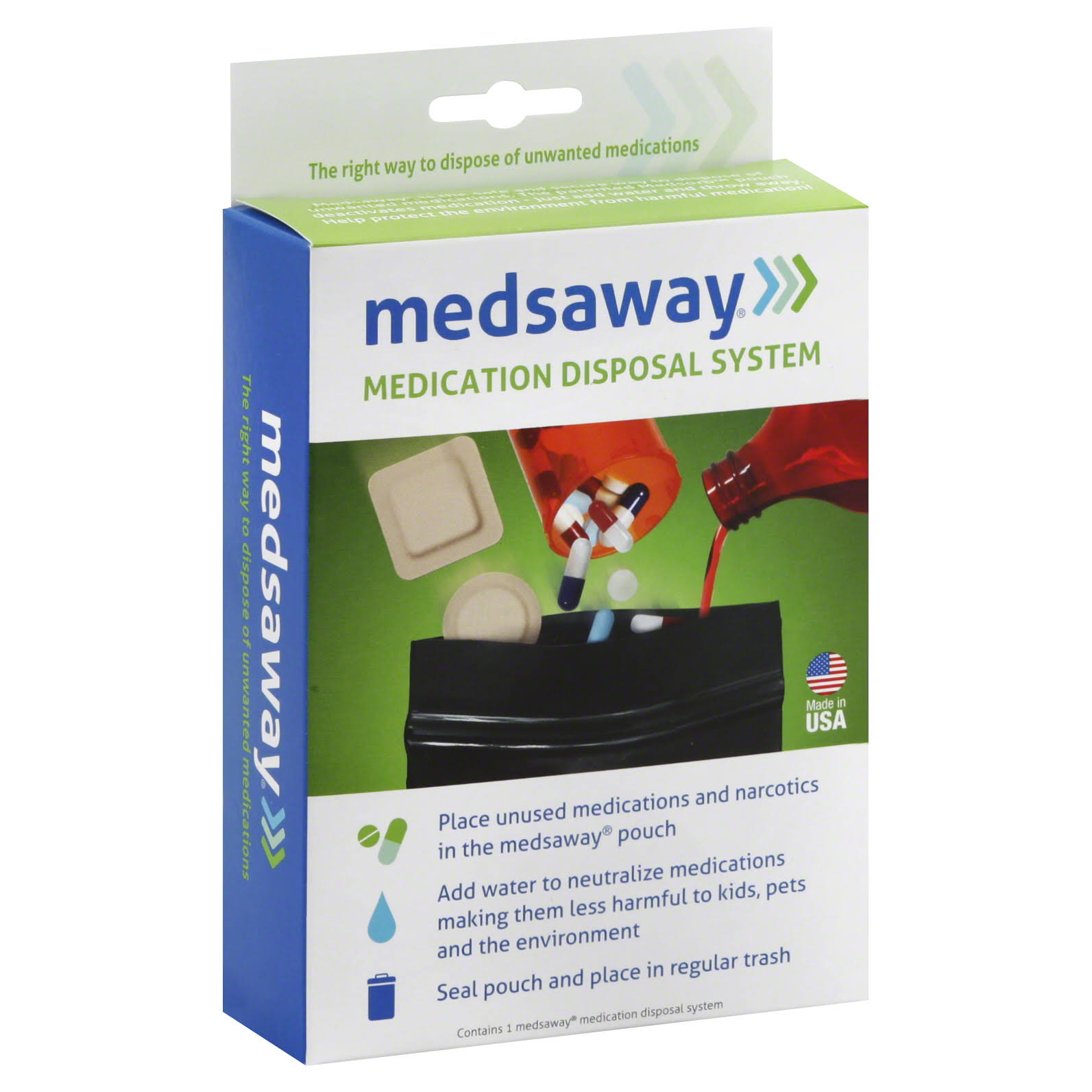 Medsaway Medication Disposal System