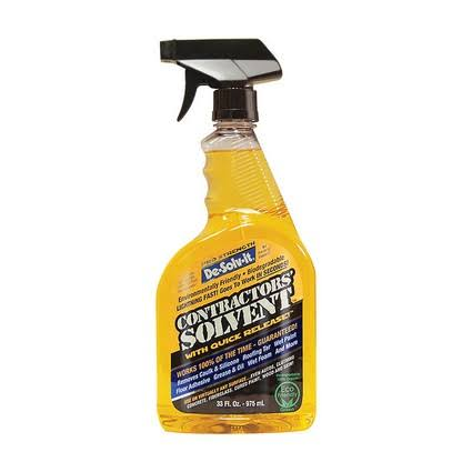 Orange Sol Contractor Solvent - 33oz