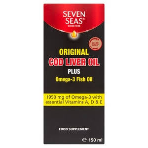 Seven Seas Original Cod Liver Oil 150ml