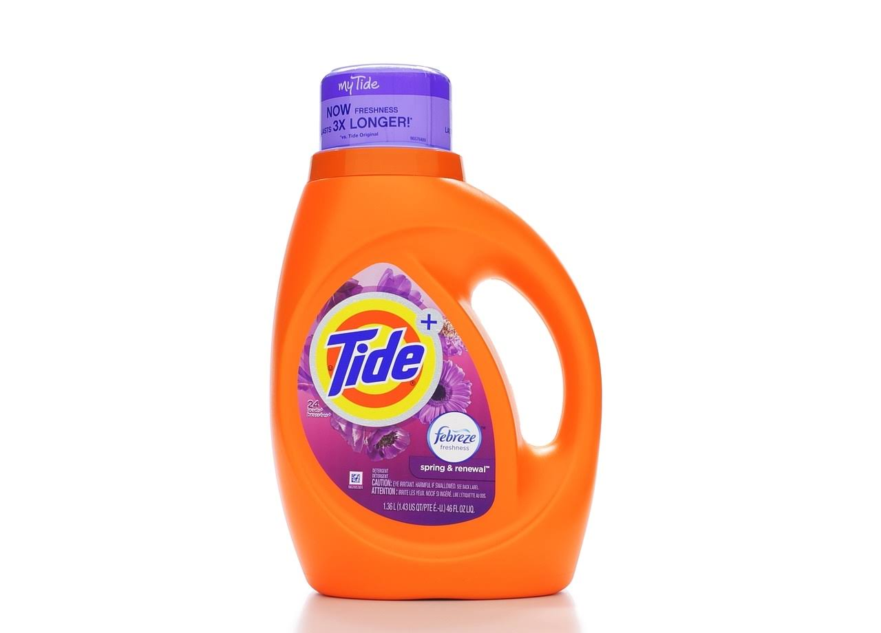Tide Liquid Laundry Detergent - Spring & Renewal, 46oz
