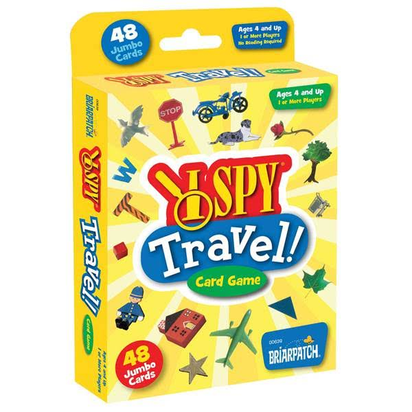 University Games UNV00639 I Spy Travel Card Game