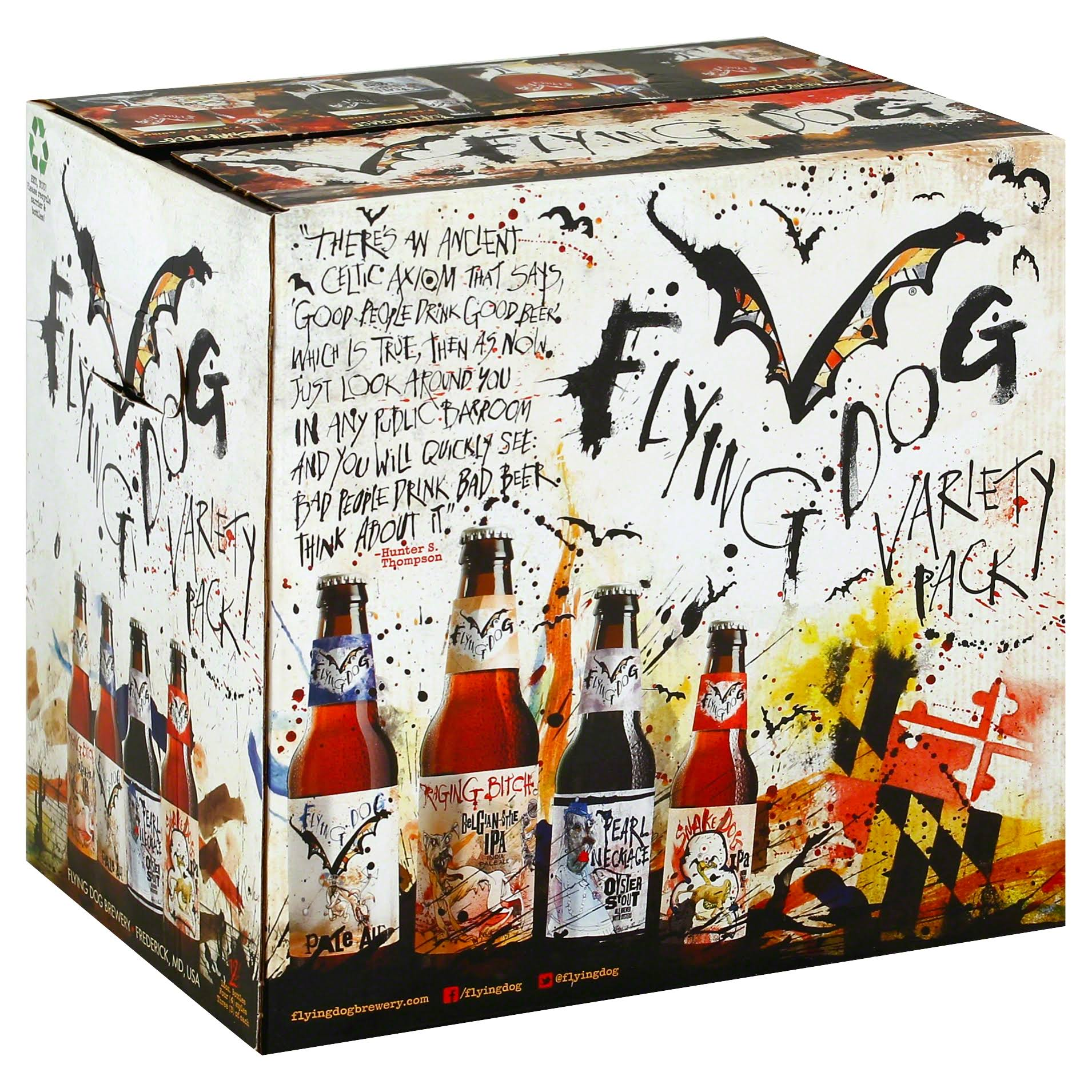 Flying Dog Ale - Variety Pack