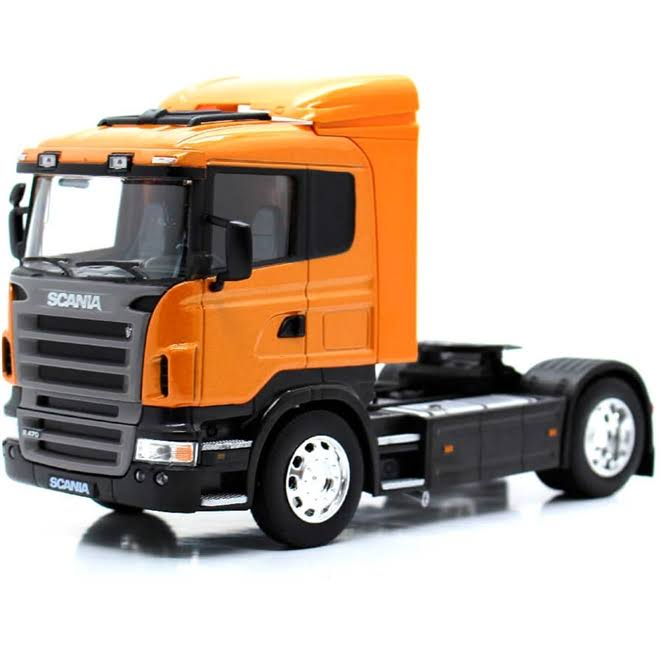 Scania R470 Cab - Orange (Welly 32625)
