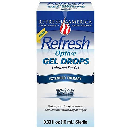 Refresh Optive Gel Drops Lubricant Eye Gel - 0.33oz