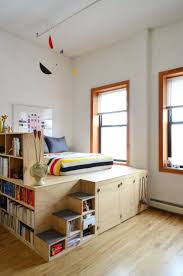 platform beds with storage throughout inspiration