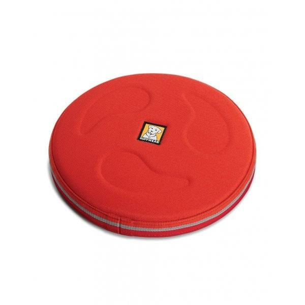 Ruffwear Frisbee Hover Craft Dog Toy - sockeye Red