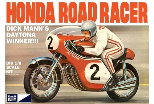 MPC 856 Honda Road Racer Plastic Model Kit - 1:8 Scale