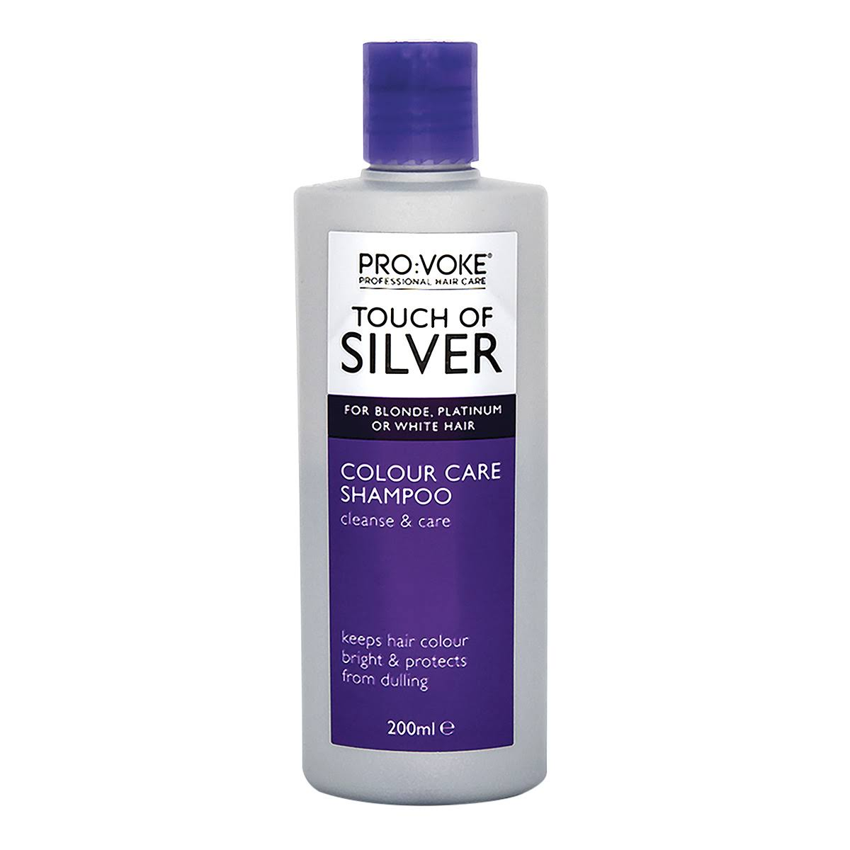 Pro:Voke Touch Of Silver Colour Care Shampoo - 200ml
