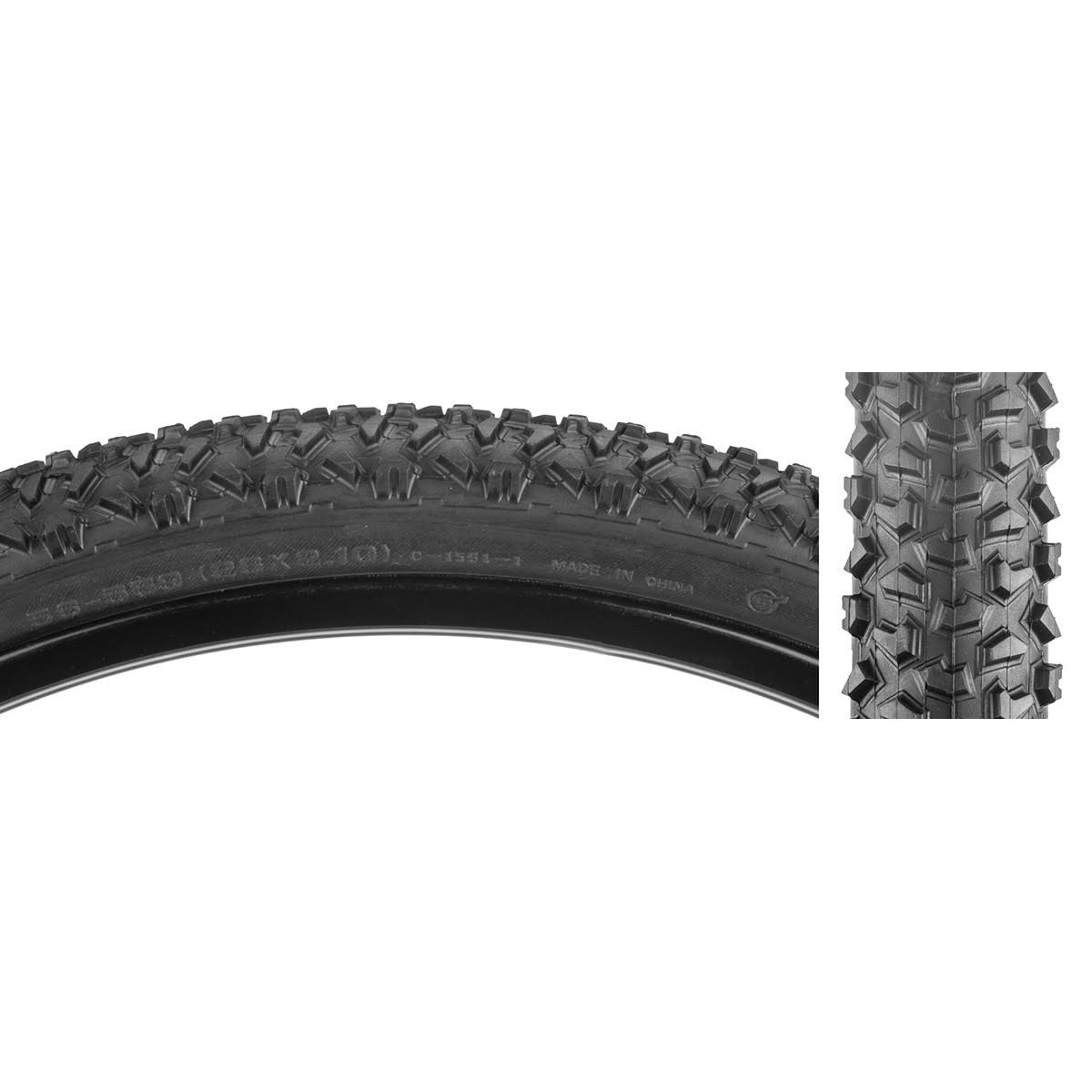"Sunlite CST1561 Cheyenne Bike Tire - 26""x2.1"", Black"