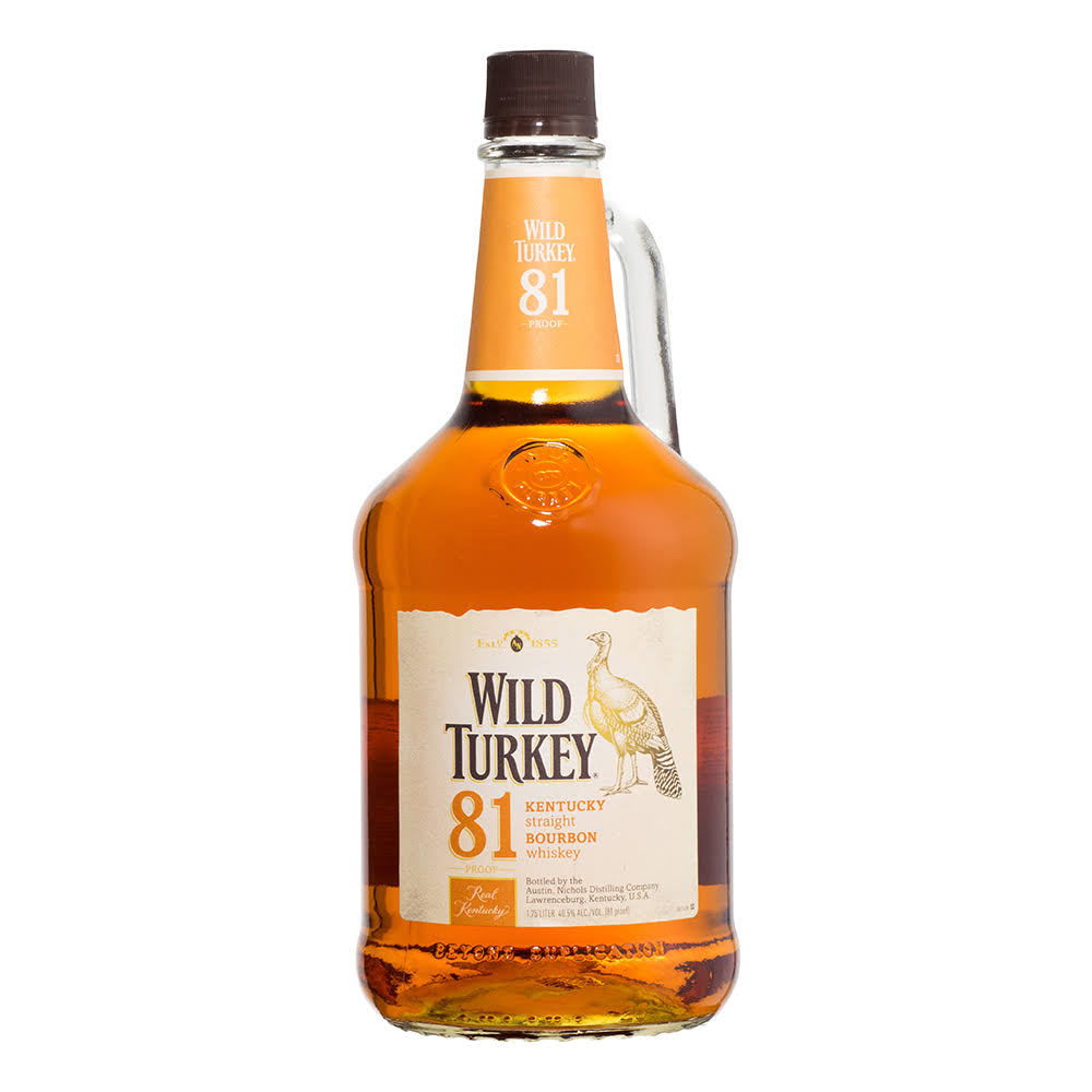 Wild Turkey 81 Bourbon Whiskey - 1.75L