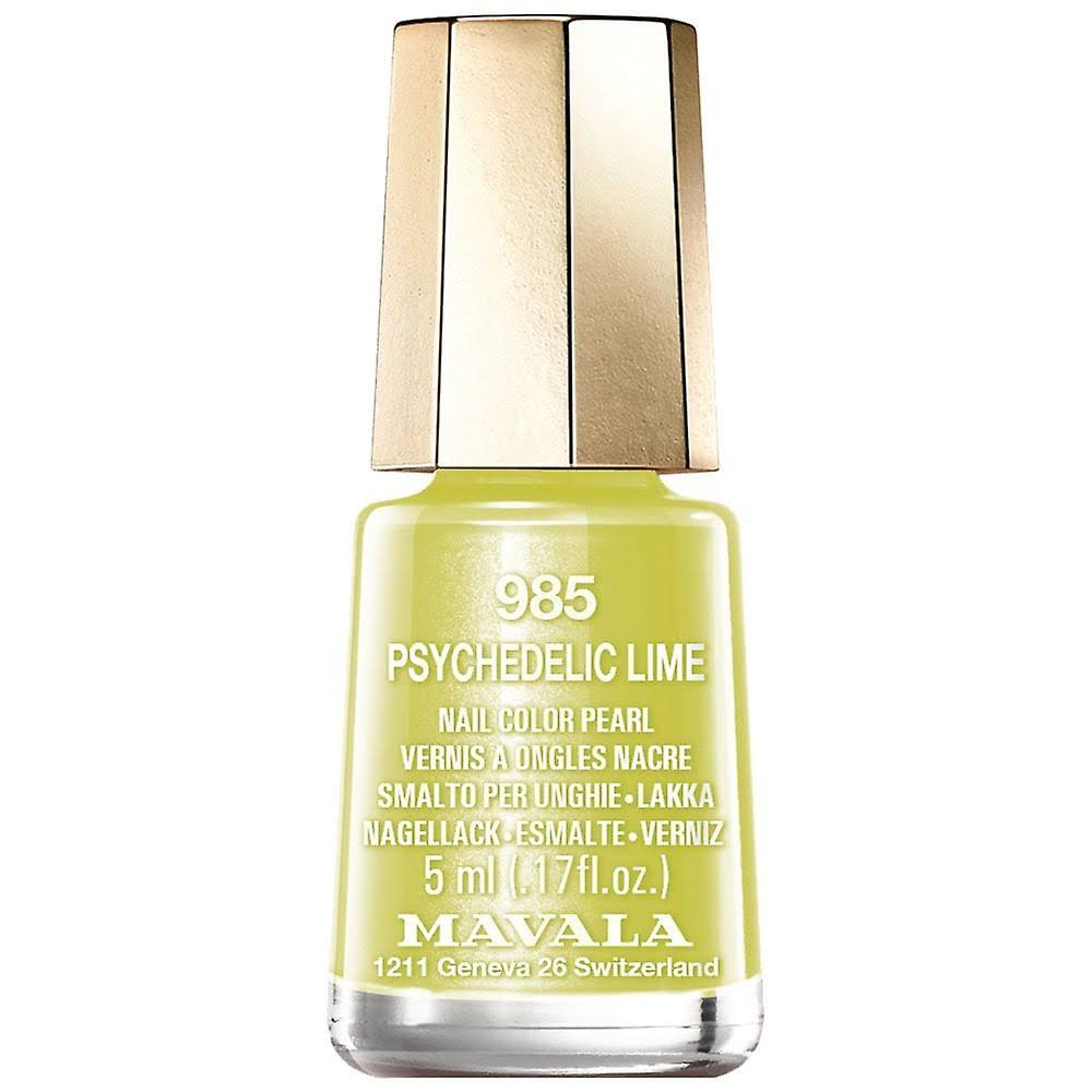 Mavala Nail Polish Dash & Splash 2019 Collection Psychedelic Lime 15ml