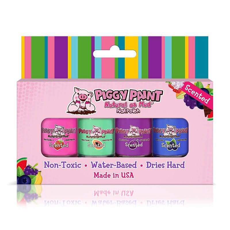 Piggy Paint Fruity Scented Nail Polish Gift Set