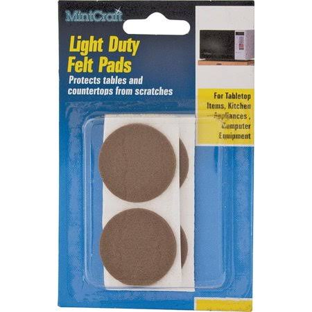 Prosource Pad Felt - Brown, 7/8""