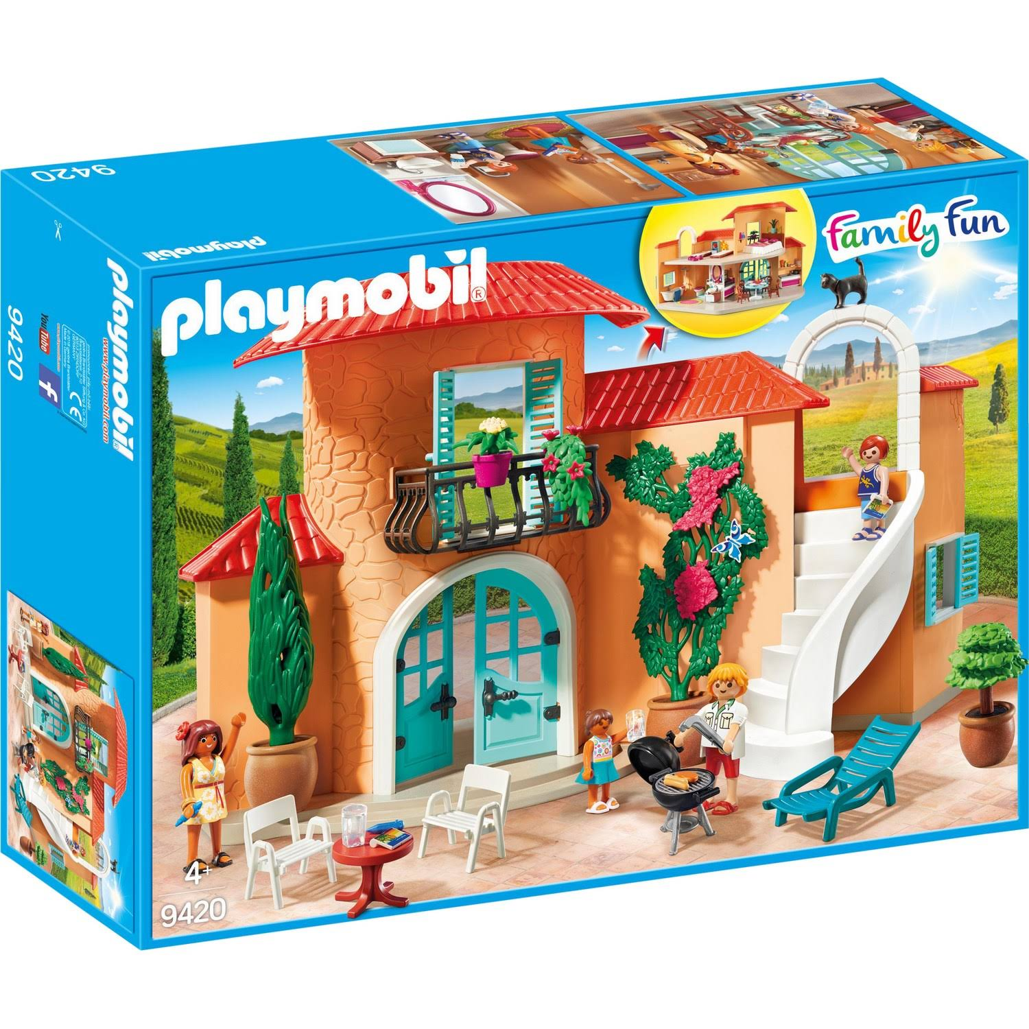 Playmobil 9420 Family Fun Summer Villa Set