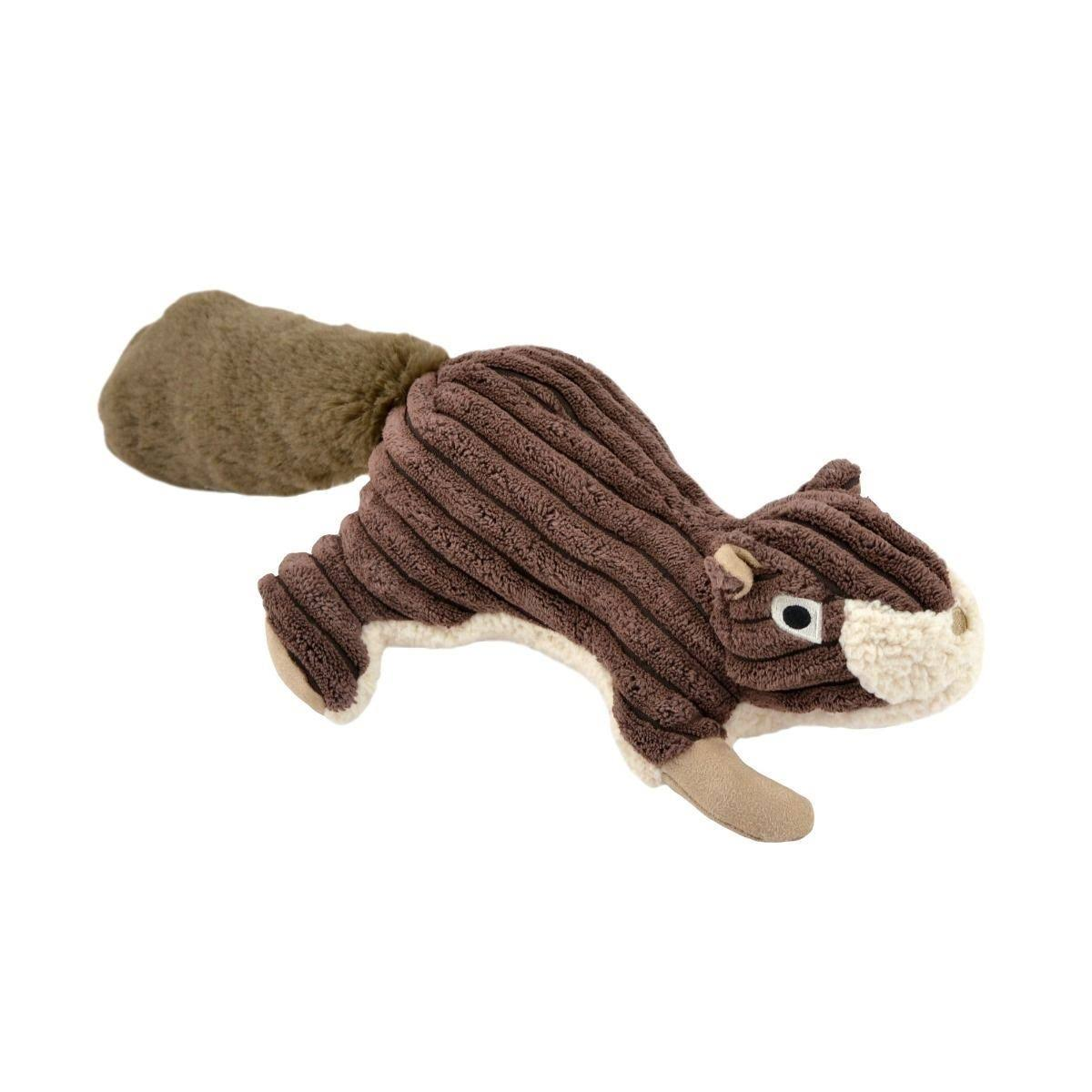 Tall Tails 88216258 Squeaker Squirrel Dog Toy Brown - 12 in.