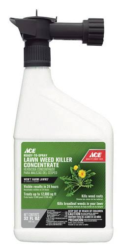 Ace Lawn Weed Killer Concentrate 32 oz.