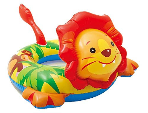Intex Big Animal Lion Swim Ring Pool Float