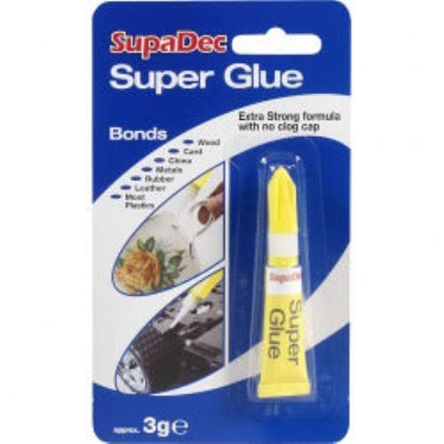 SupaDec Superglue Liquid Tube 3G