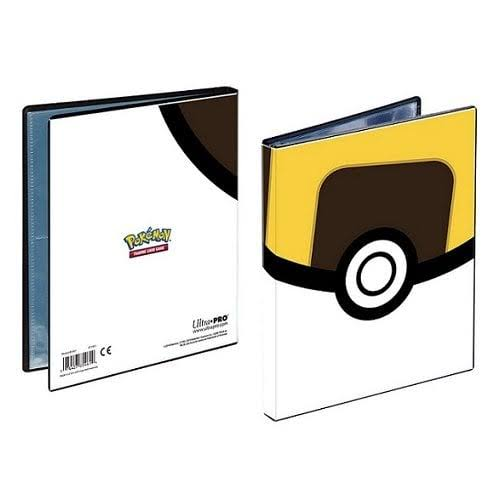 Ultra Pro Pokemon Card Album Ball 4 Pocket Portfolio
