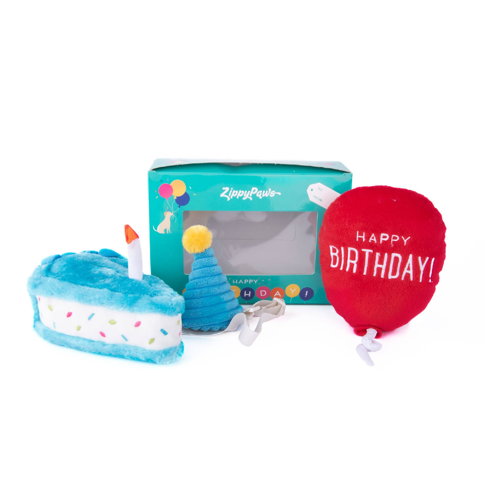 ZippyPaws Pup Birthday Box