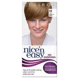 Nice'n Easy Non Permanent Hair Dye - 73 Medium Ash Blonde