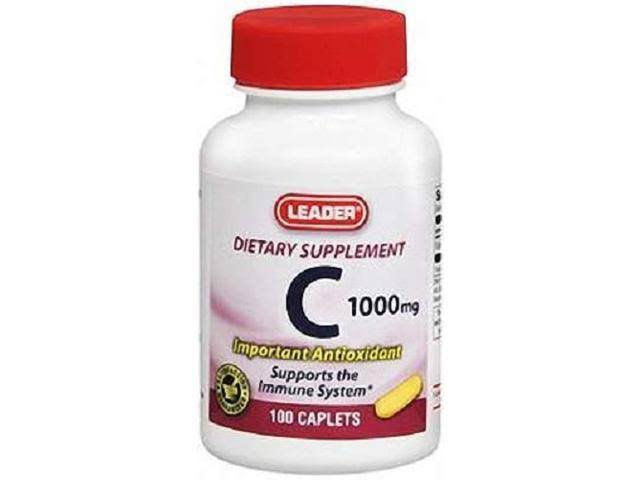 Leader Vitamin C 1000mg Tablets 100ct