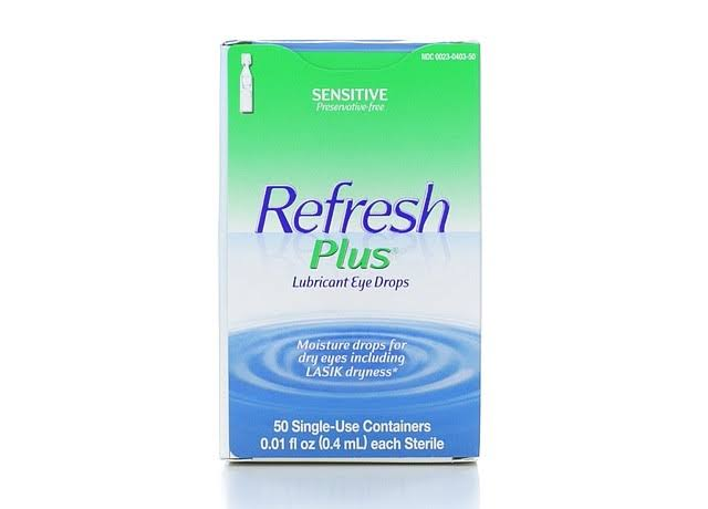 Refresh Plus Moisturizing Relief Lubricant Eye Drops - 50ct