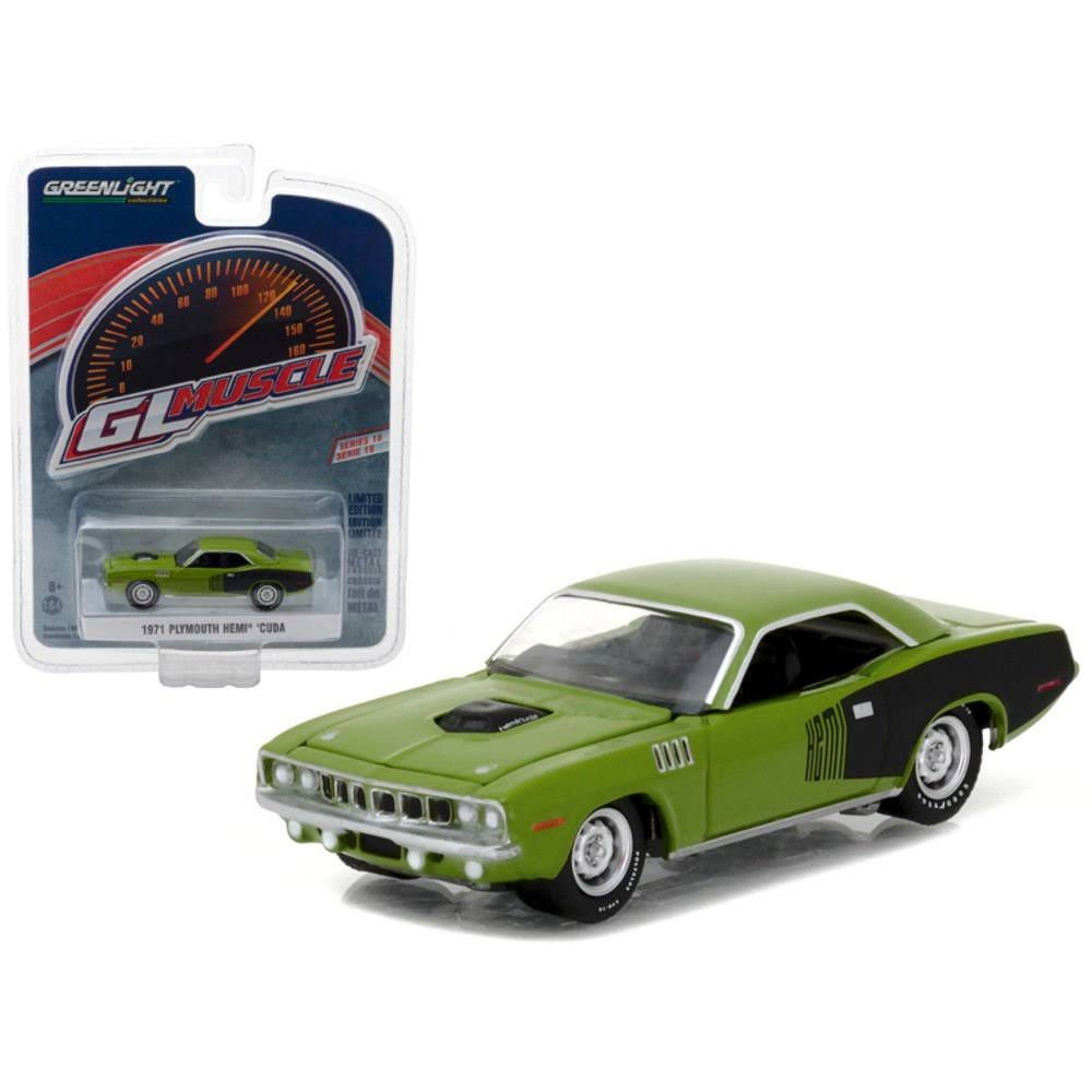 Greenlight Muscle Series 18, 6pc Diecast Car Set 1/64 Diecast Model...