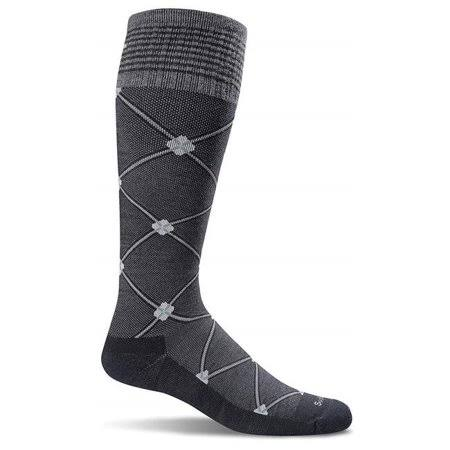 Sockwell Women's Elevation Compression Socks - Black Multi, Medium and Large