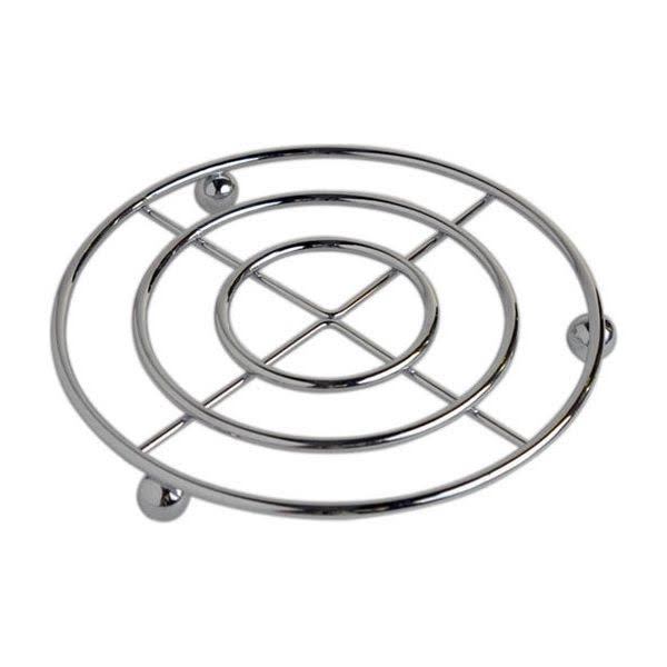 Home Basics Chrome Sphere Collection Trivet