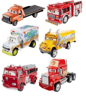 Mattel - Disney-Pixar Cars 3 Deluxe Vehicle (Assorted) - Multi
