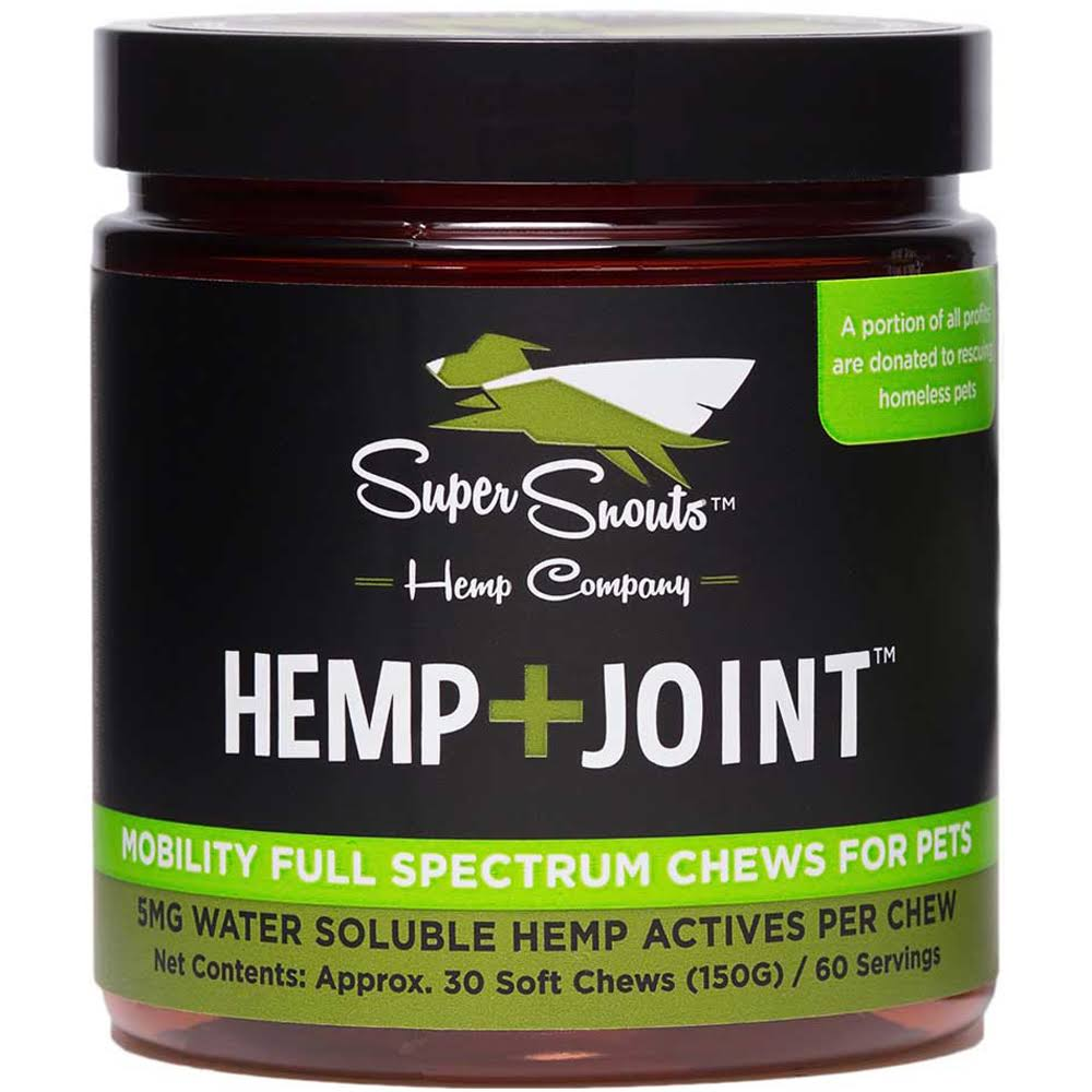 Super Snouts Hemp Joint Chews 30ct
