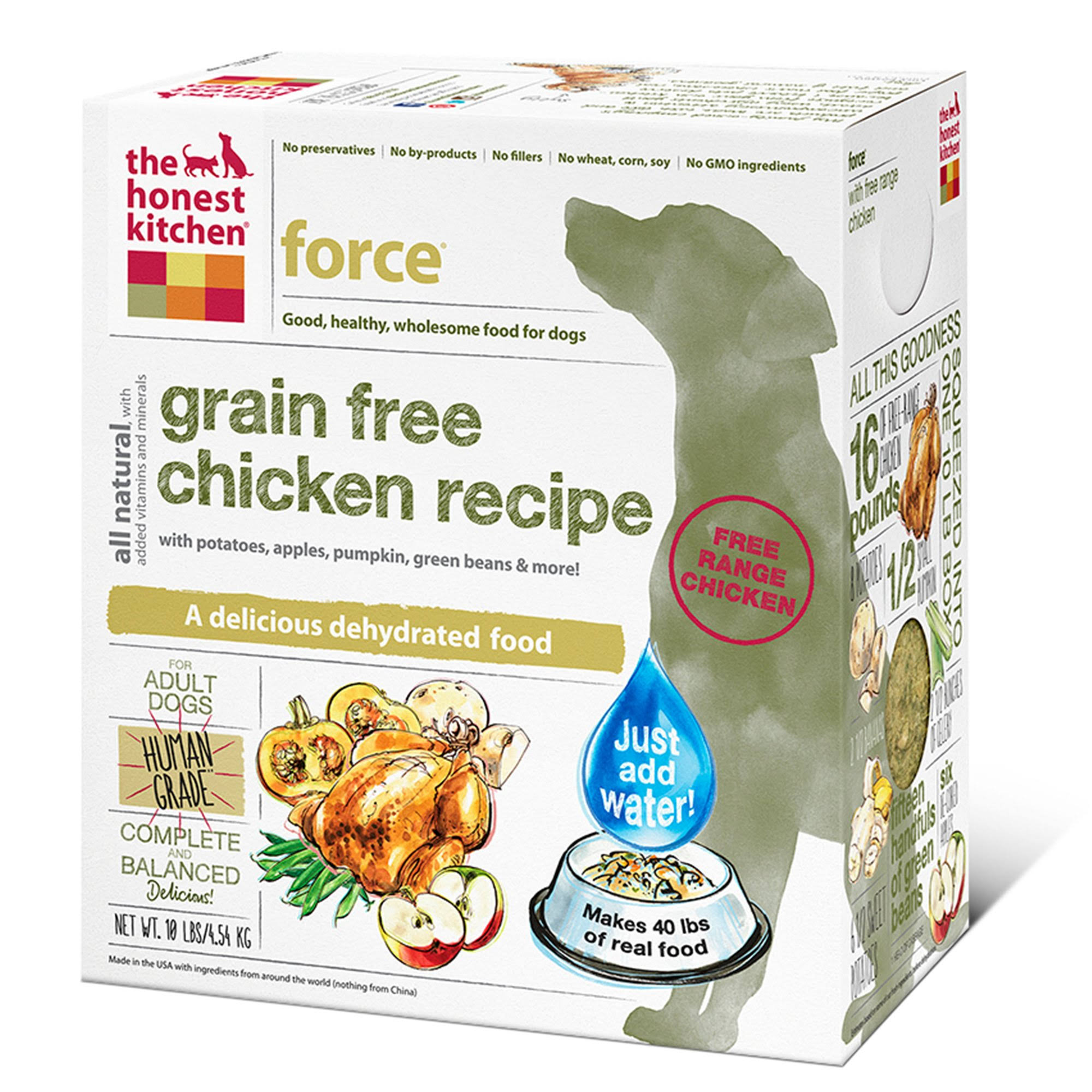 The Honest Kitchen Grain Free Dog Food - Chicken